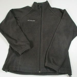 Columbia Womens Sz S Black Fleece Jacket Full Zip